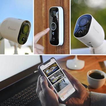 Toucan Video Doorbell and Outdoor Camera (2 Pack) Bundle