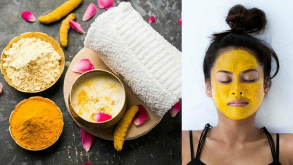 Yellow Sandalwood Face Pack Cures Wrinkle Sun Tan Darkspots Acne blackheads for skin care