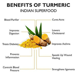 Herbal Magic TCC Turmeric Cinnamon -Cardamom Latte Mix -100% Organic Indian Superfood With Powerful Curcumin -Golden Milk Powder, 100g