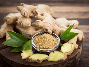 Certified Organic Ginger Powder 6% Gingerol Sugar Digestion Anti Aging Digestion
