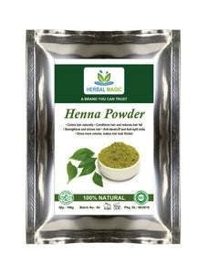 500g Organic Certified Henna Powder With Body Art Henna Quality Triple Sifted