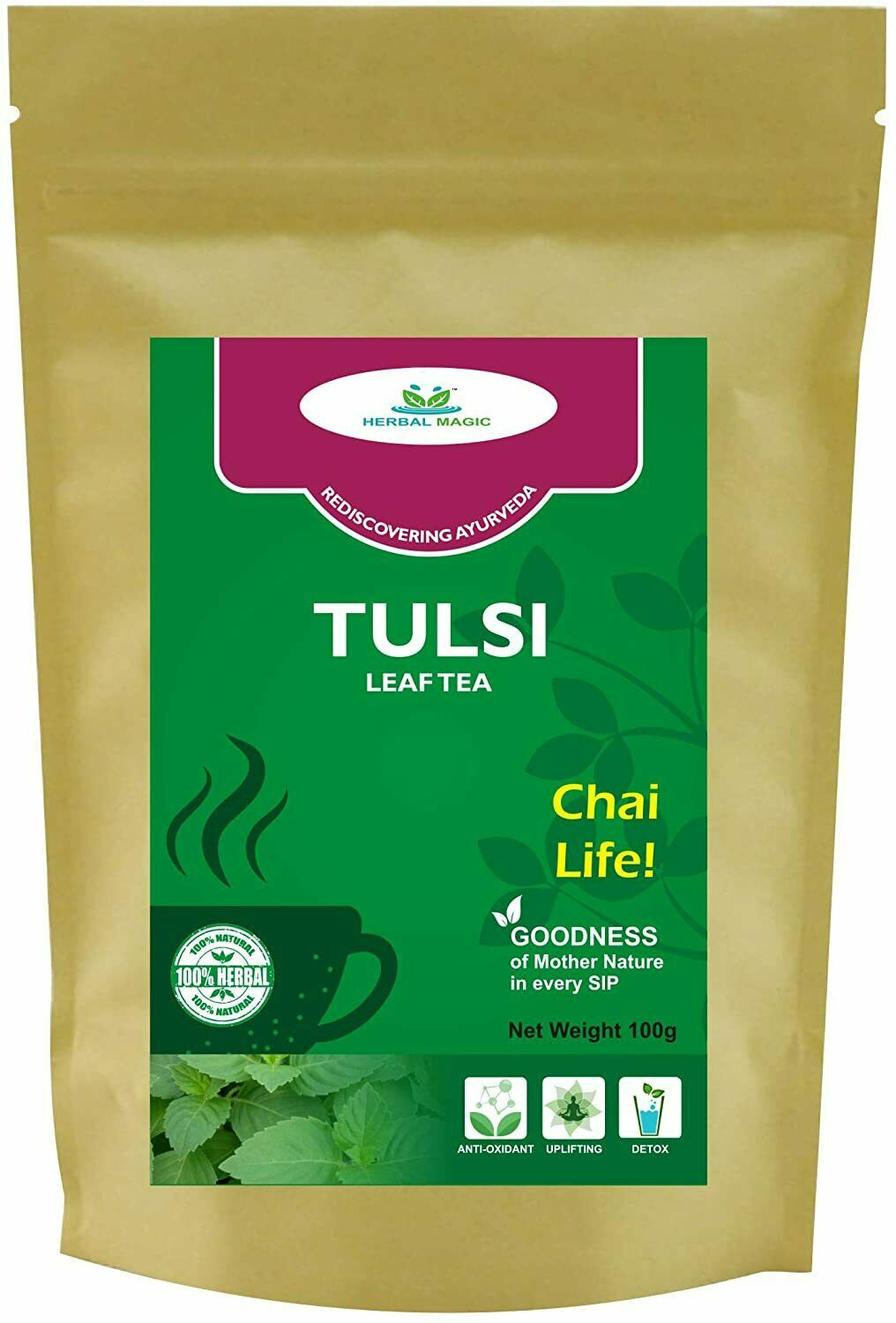 Tulsi Herb Tea Cuts Energizing Drink Antioxidants Rich Herbal BeverageListed for charity