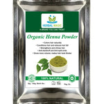 100g USDA Organic Cerified Henna Powder Triple-Sifted - Natural Hair Color |Dye