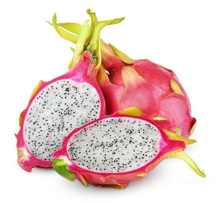 Organic Dragon Fruit Powder (Whitish Pink Pitaya Variety) Smoothies Food Color