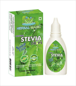 40ml Organic Stevia Liquid Drops Sweetener No Added Flavour Sugar Replacement