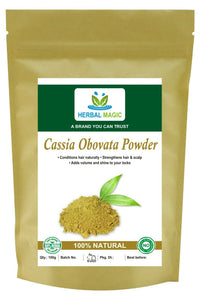 100g Organic Cassia Obovata Powder Senna Leaves Neutral Henna Hair Conditioning Listed for charity