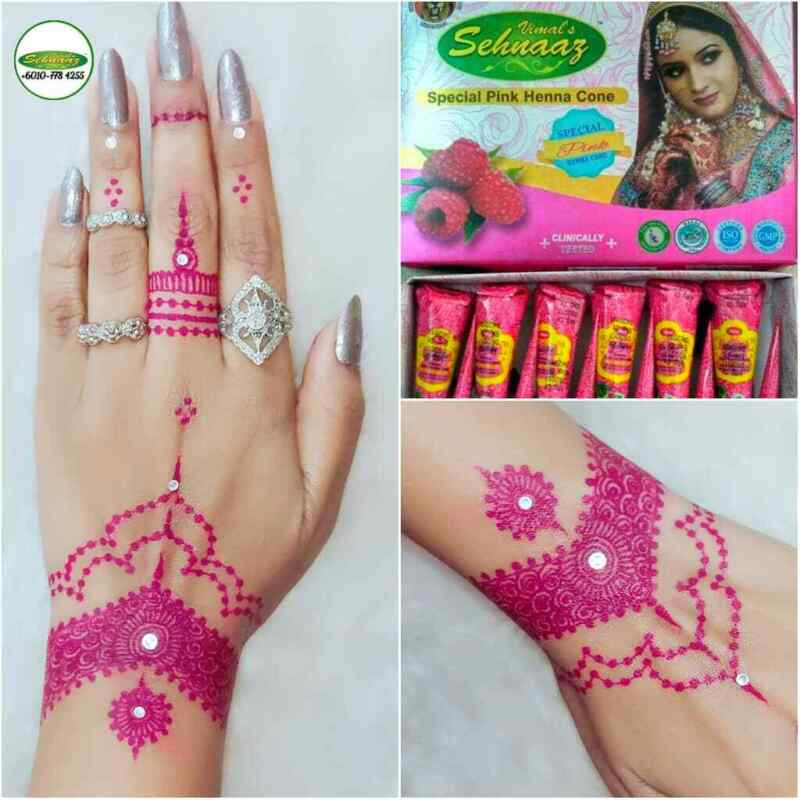1 pc Natural Henna Tattoo Cones Please Choose Your Shade 12 Colors Available