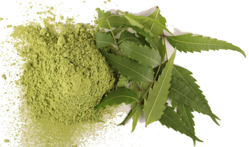 100% Pure Natural& Pesticide Free Org Neem Powder-face Mask Scrub Skin Acne Tone
