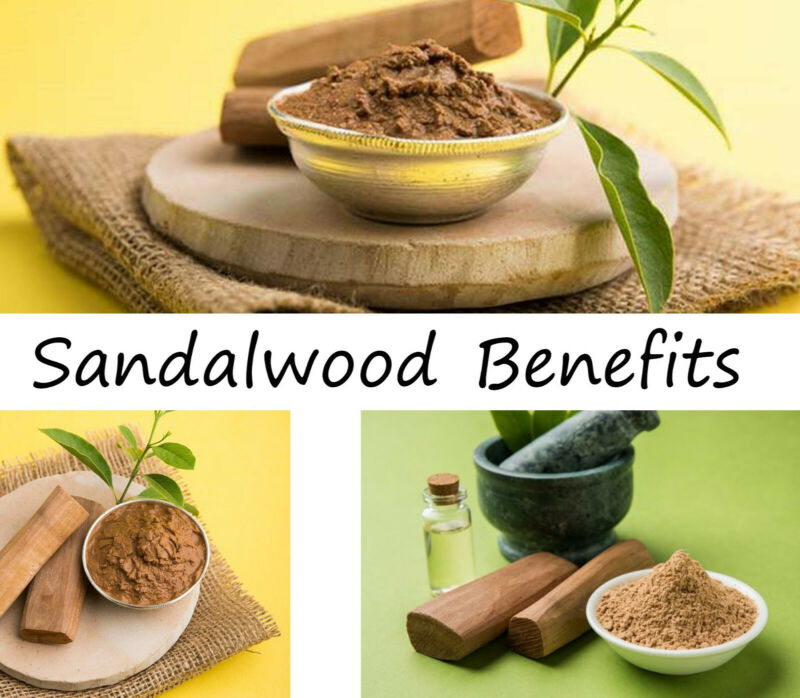 50g Yellow Sandalwood Face Pack Cures Wrinkle Sun Tan Darkspots Acne blackheads