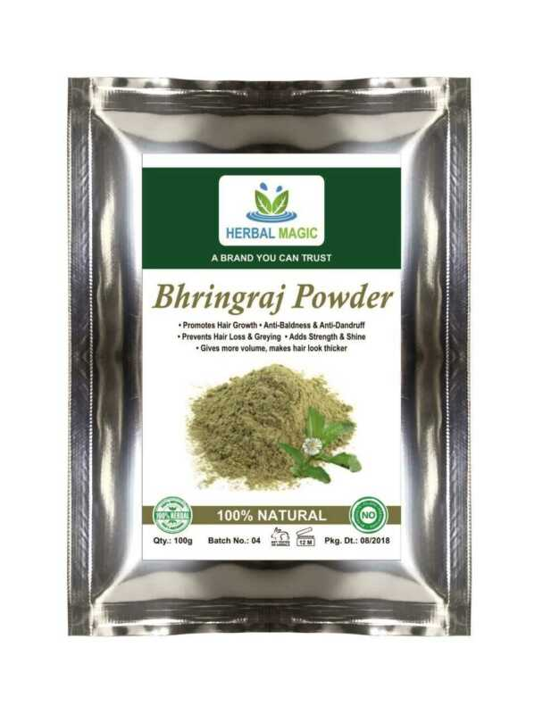 Pure and Natural Bhringraj Powder For Hair Loss| growth |Strength Healthy Scalp