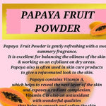100g Organic Papaya Powder Natural Sun Dried Papaya Fruit Powder (papain)