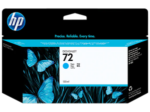 C9371A HP 72 130ml Cyan Ink Cartridge