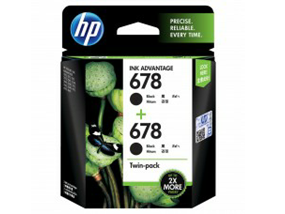 L0S23AA HP 678 Twin Pack