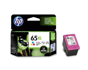 N9K03AA HP 65XL Tri-color Original Ink Cartridge