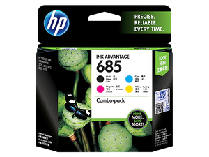 F6V35AA HP 685 CMYK Ink Cartridge Combo 4-Pack