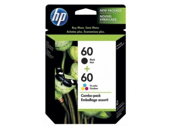 CN067AA HP 60 Print Cartridge Combo Pack