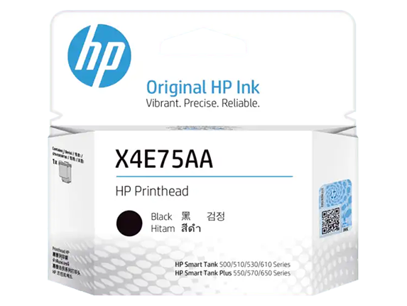 X4E75AA HP Black Printhead (NEW)