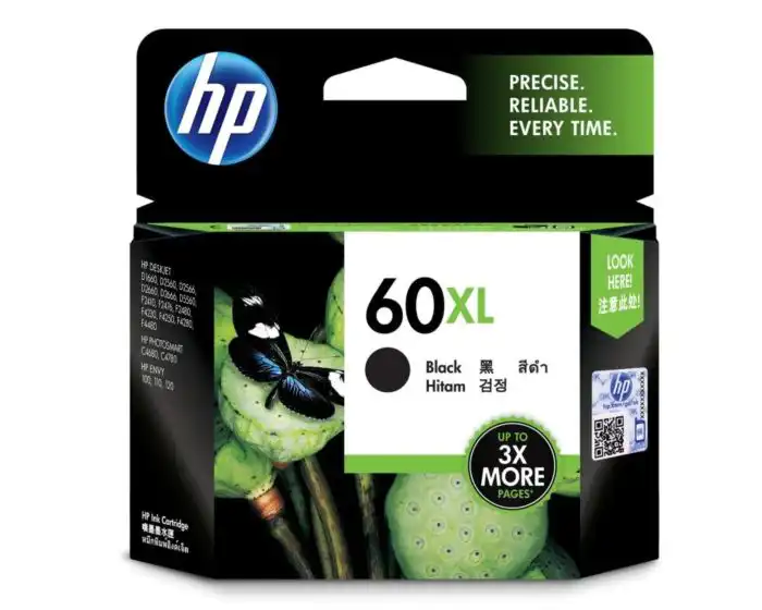 CC641WA HP 60XL Black Ink Cartridge