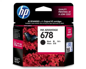 CZ107AA HP 678 Black Ink Cartridge