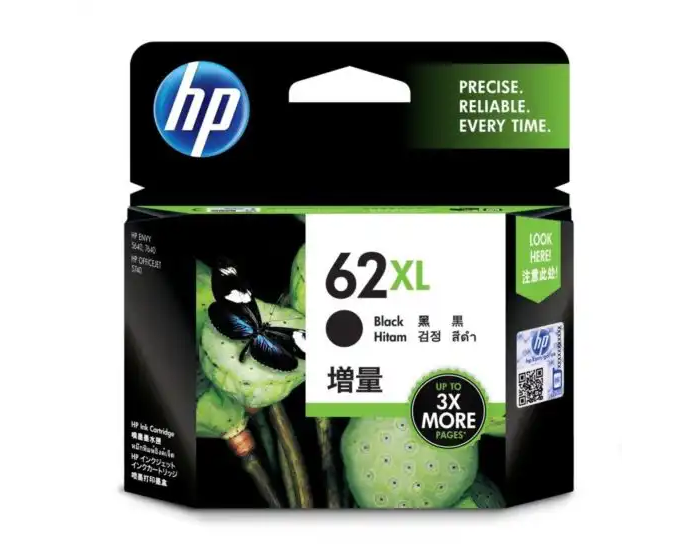 C2P05AA HP 62XL Black Ink Cartridge