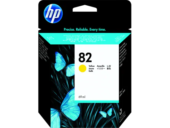 C4913A HP No 82 Yellow Ink Cartridge
