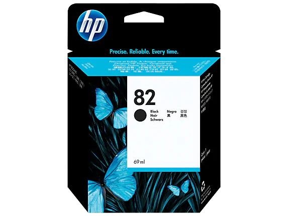 CH565A HP 82 Black Ink Cartridge