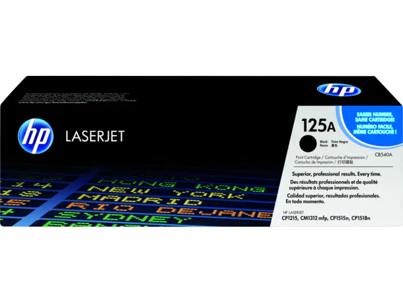 CB540A HP Color LaseJet CP1215/1515 Black Cartridge