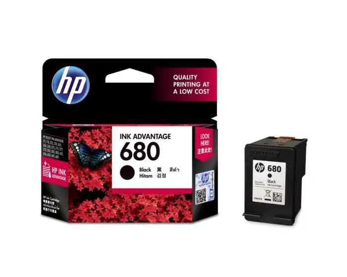F6V27AA HP 680 Black Ink Cartridge