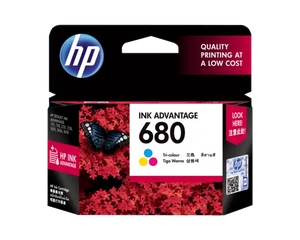 F6V26AA HP 680 Tri-color Ink Cartridge