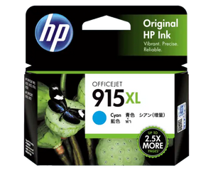 3YM19AA HP 915XL Cyan Original Ink Cartridge