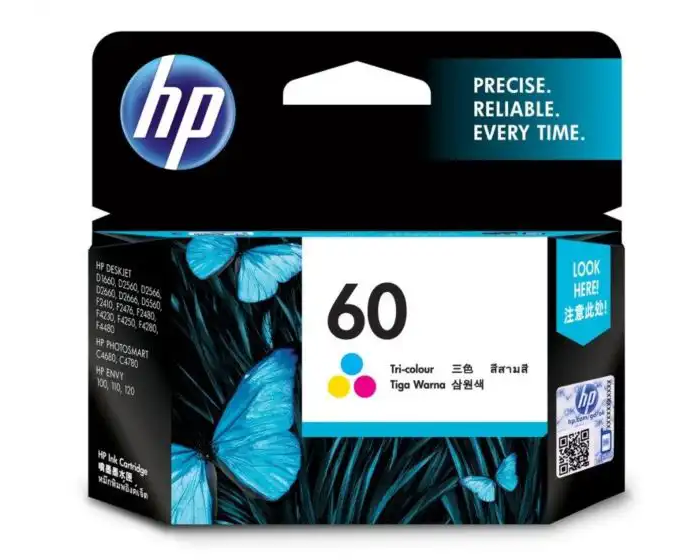 CC643WA HP 60 Tri-Color Ink Cartridge