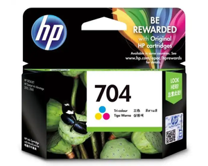 CN693AA HP 704 Tri-color Ink Cartridge