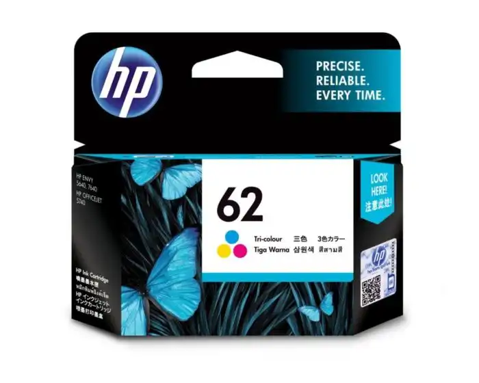 C2P06AA HP 62 Tri-color Ink Cartridge