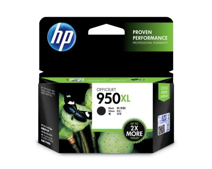 CN045AA HP 950XL Black Officejet Ink Cartridge