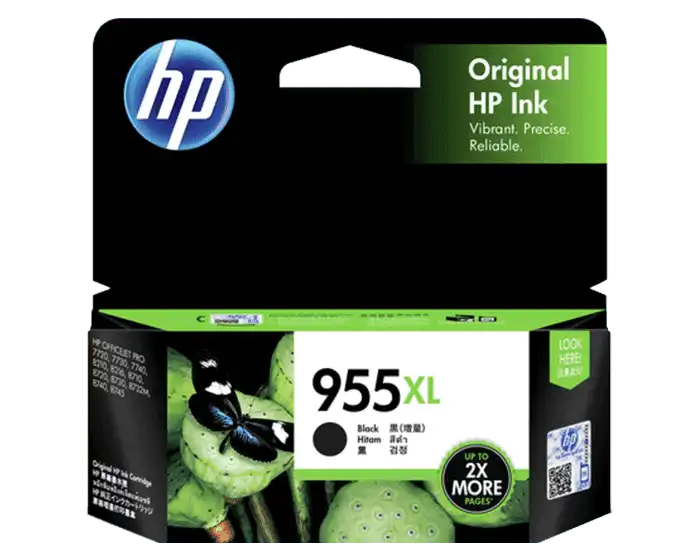 L0S72AA HP 955XL Black Original Ink Cartridge