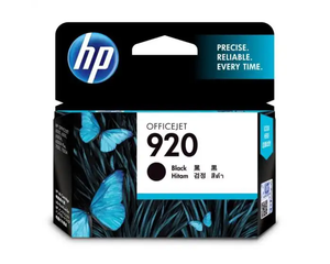 CD971AA HP 920 Black Officejet Ink Cartridge
