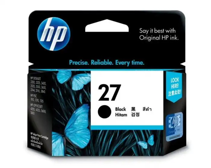 C8727AA HP 27 Black Ink Cartridge