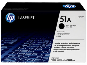 Q7551A HP 51A LaserJet P3005/M3035 mfp Black Cartridge