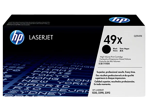Q5949X HP 49X Black Laserjet LJ1320 cartridge