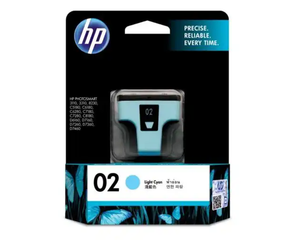 C8774WA HP 02 AP Light Cyan Ink Cartridge