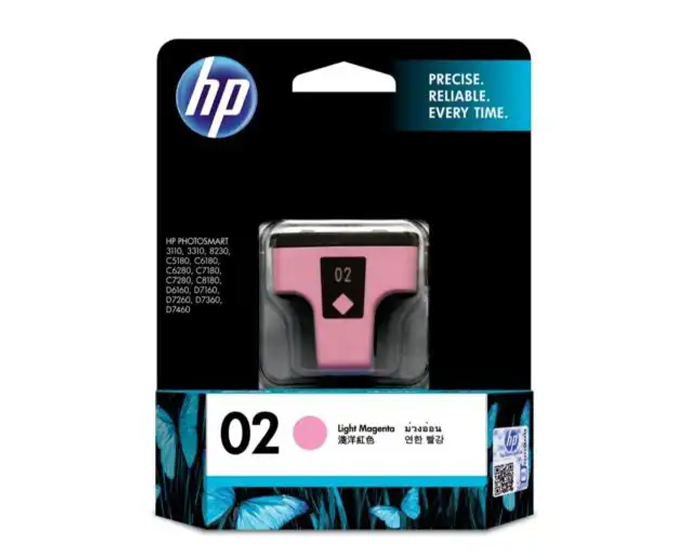 C8775WA HP 02 AP Light Magenta Ink Cartridge