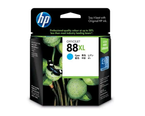 C9391A HP 88 Large Cyan Ink Cartridge