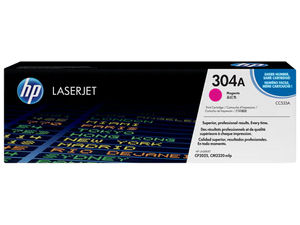 CC533A HP 304A Color LaserJet CP2025 Magenta Cartridge