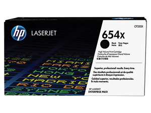 CF330X HP 654X Black LaserJet Toner Cartridge
