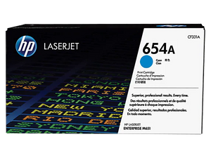CF331A HP 654A Cyan LaserJet Toner Cartridge