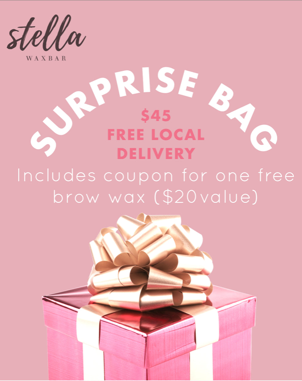 SURPRISE BAG + FREE BROW WAX