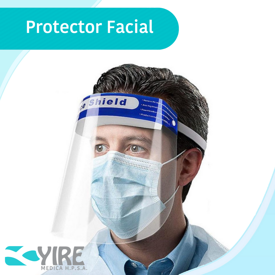 PROTECTOR FACIAL ANTIEMPAÑABLE