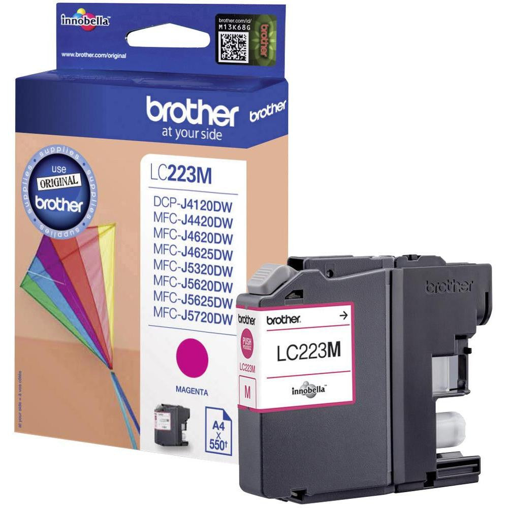 Cartucho de tinta Brother LC223 Magenta