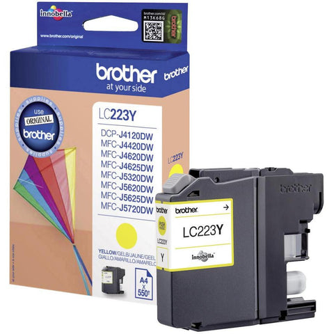 Cartucho de tinta Brother LC223 Amarillo