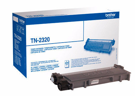 Toner Original Brother TN-2320 Negro 2600 páginas